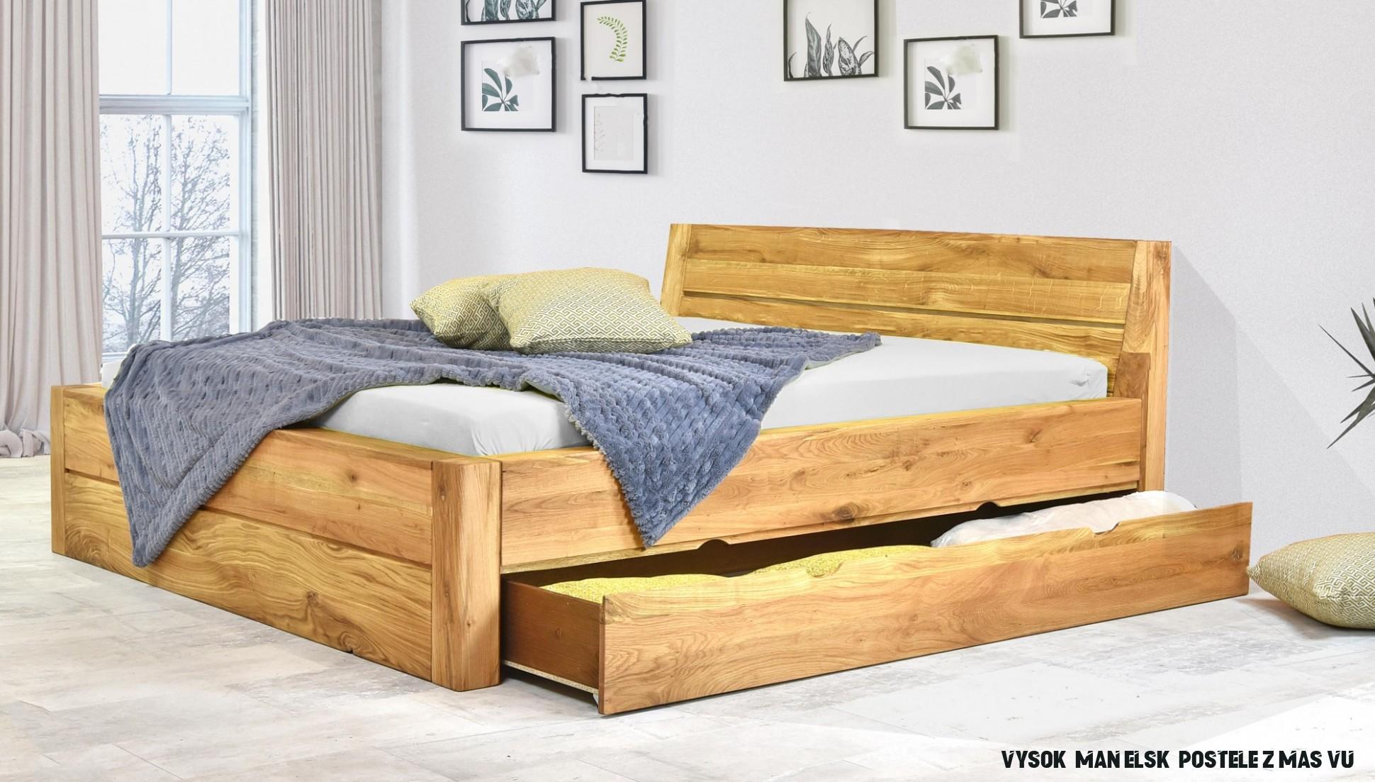 Manželská posteľ, Julia s úložným priestorom