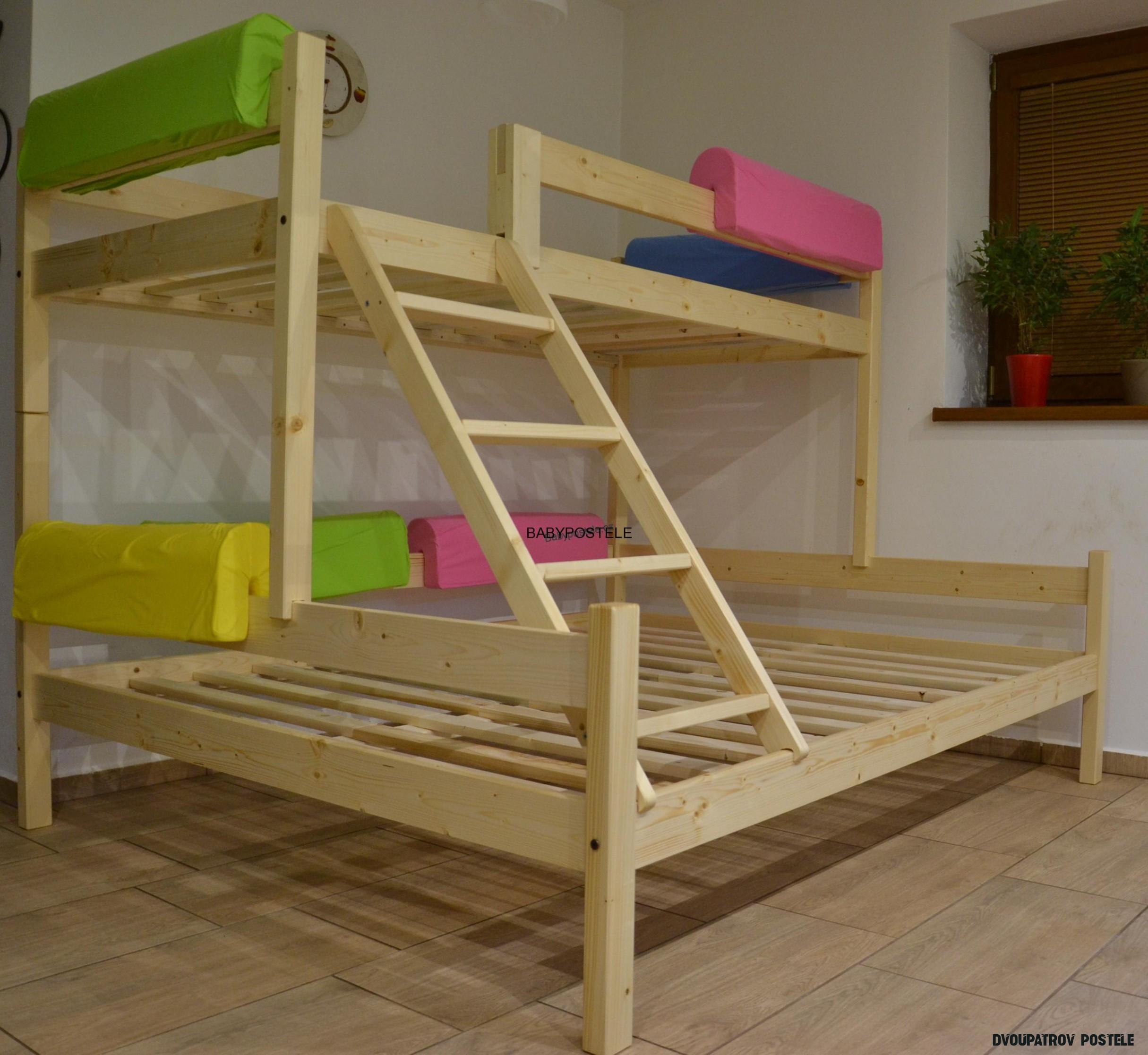 Patrová postel Nelis 20x20 cm