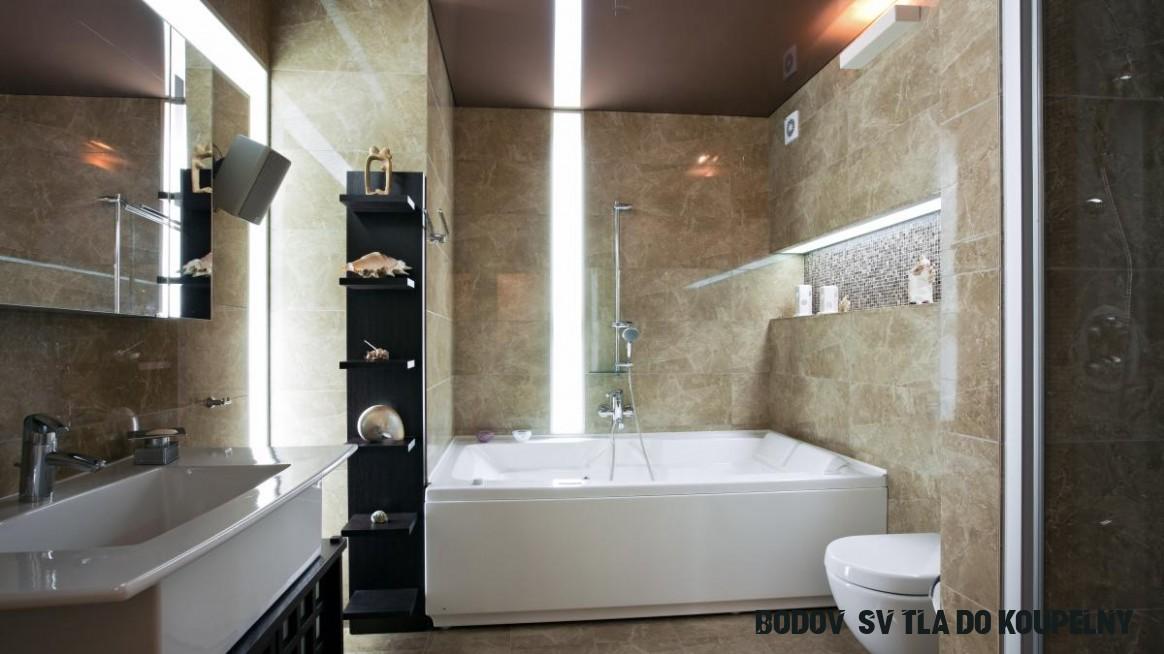 Světla do koupelny: kam, kolik a jaké  Dům a zahrada - bydlení je hra