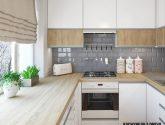 Nejlevnejší Príklad Nápad z Kuchyne Bila Drevo