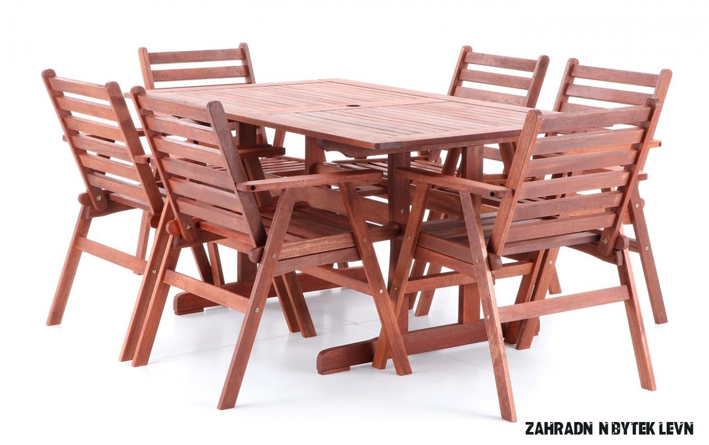 Dřevěný zahradní nábytek MERILIN 8  Levné Sekačky