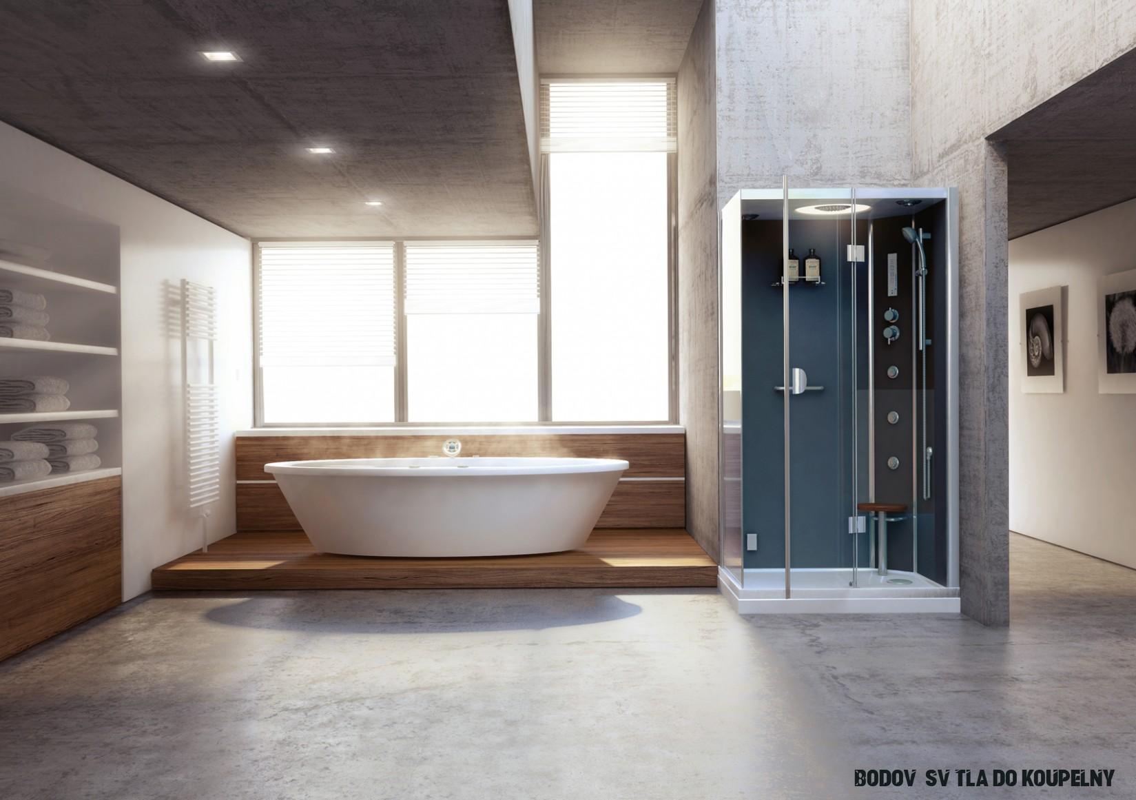 Jaké osvětlení zvolit v koupelně a jak ho rozmístit? ISANITA