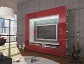 Nejvíce Fotka Idea z Obývací Stěna Červená
