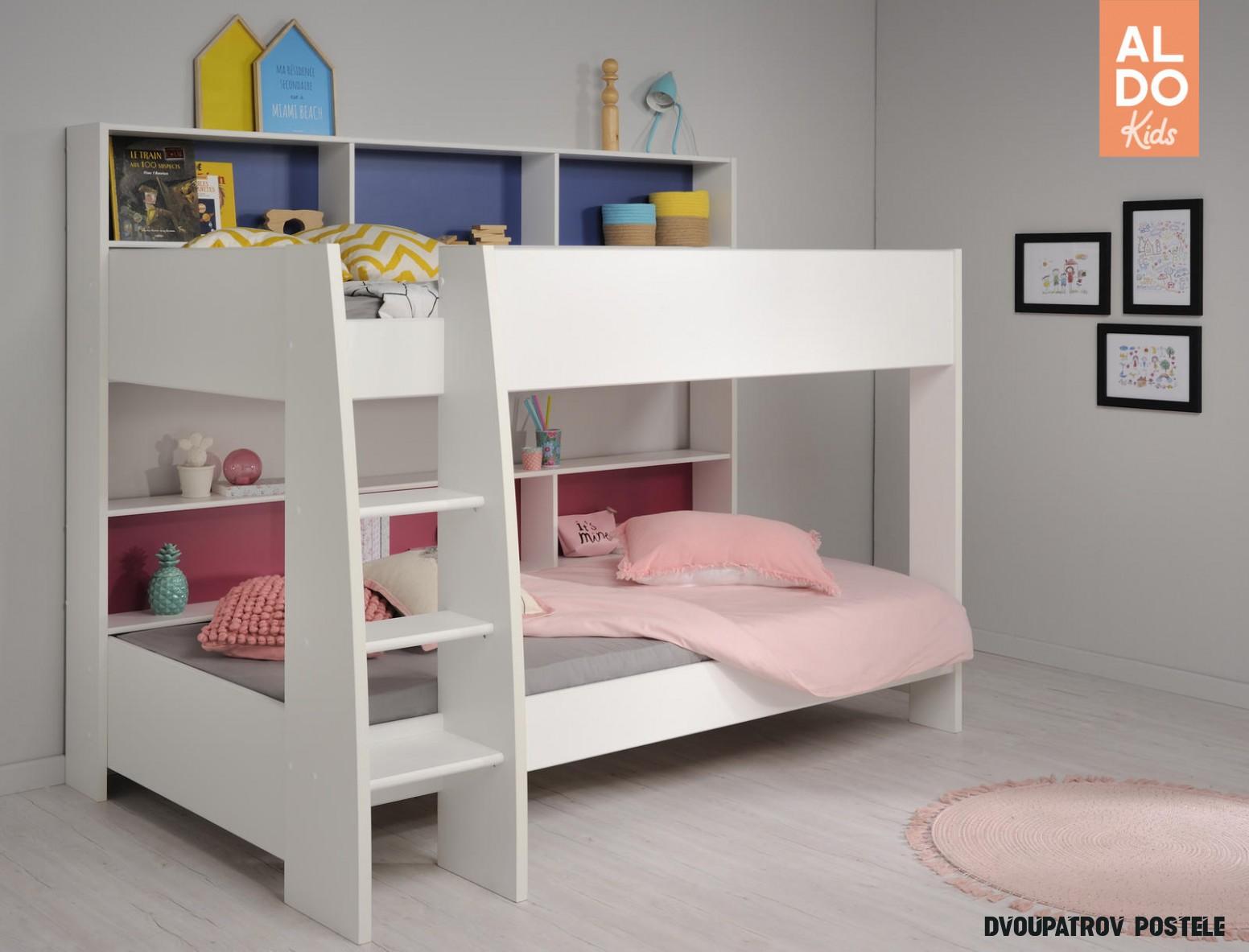 Dětská patrová postel Leo