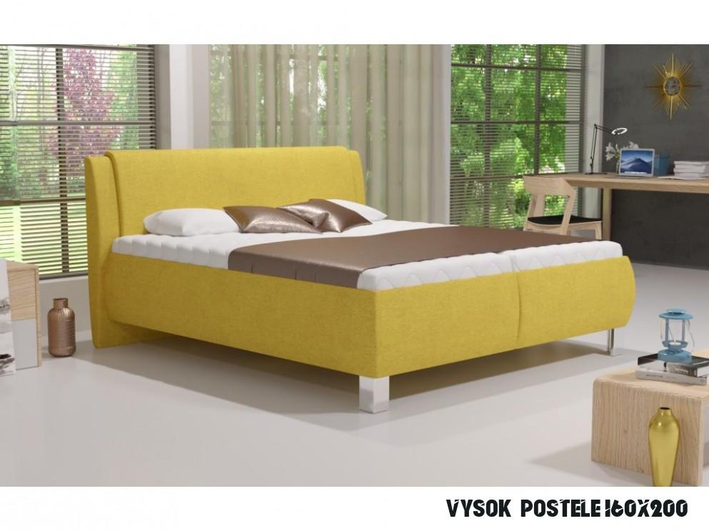 Manželská postel V. NICE 15x15 s úložným prostorem