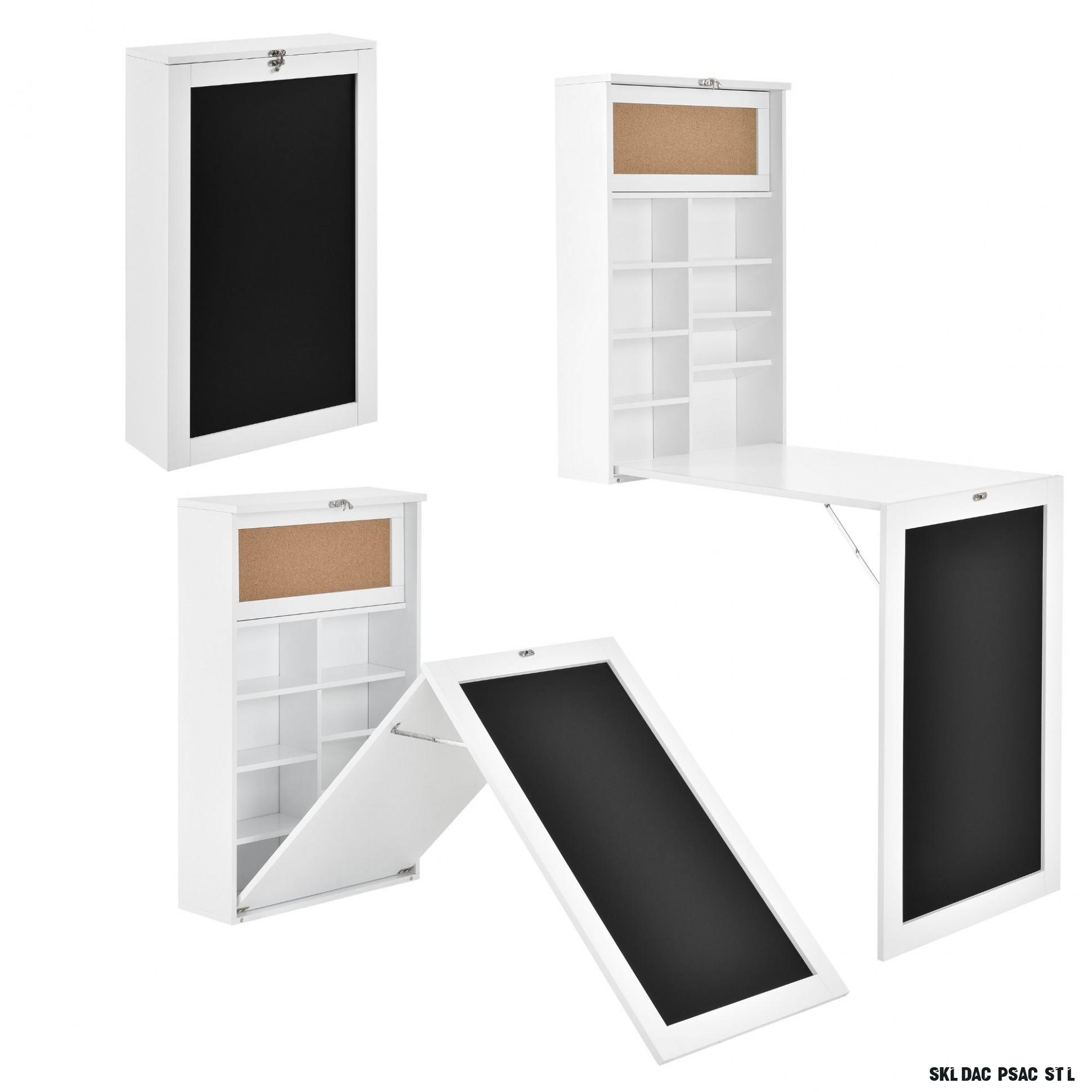 en.casa] ABWS-18 psací stůl skládací 18 x 18 cm  InHaus.cz