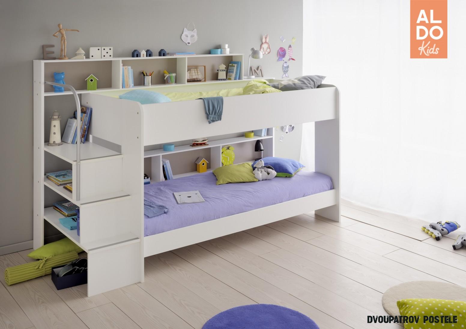 Dětská patrová postel Swan - 20 osoby