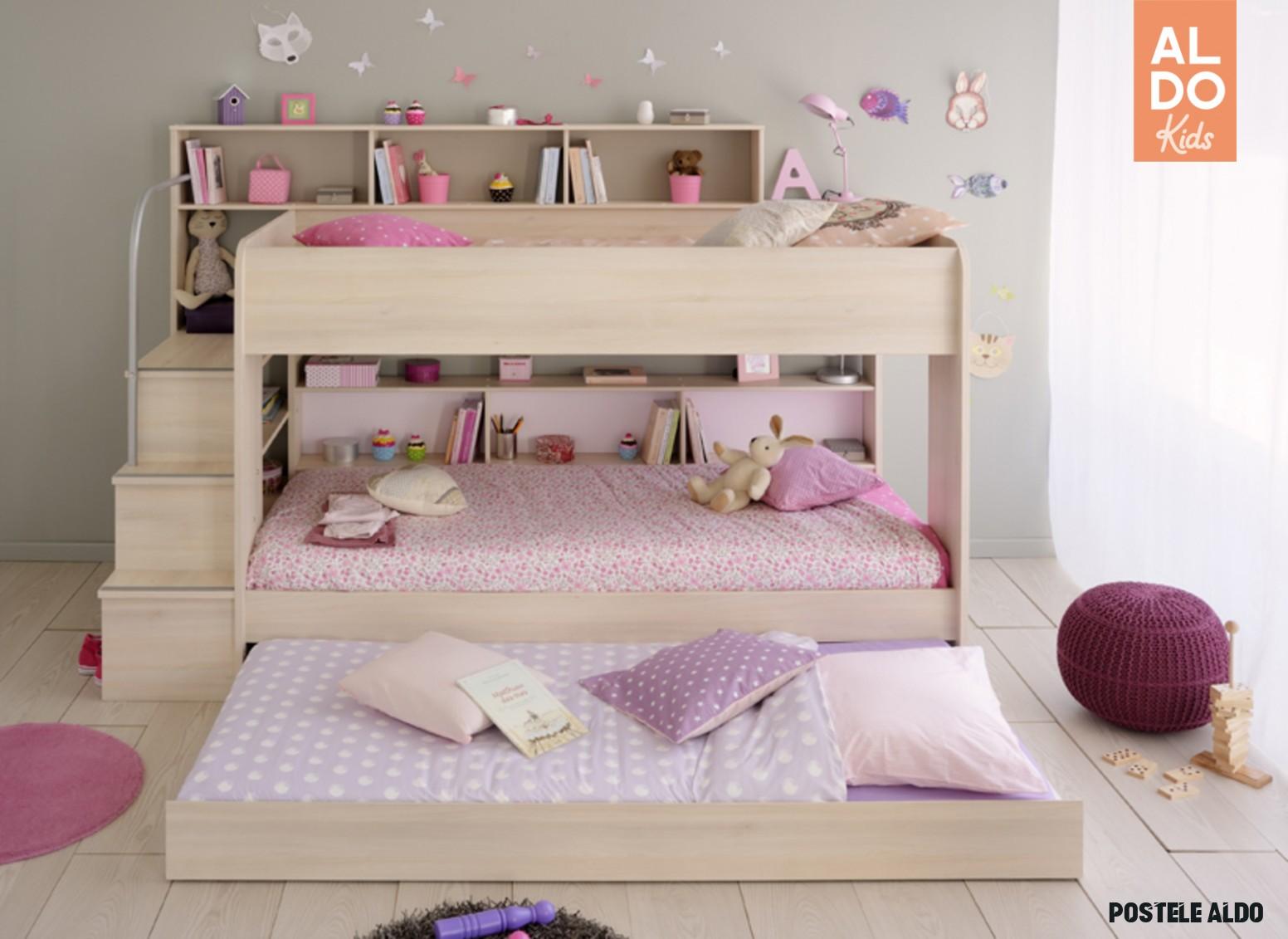 Dětská postel Bibop - 18 osoby