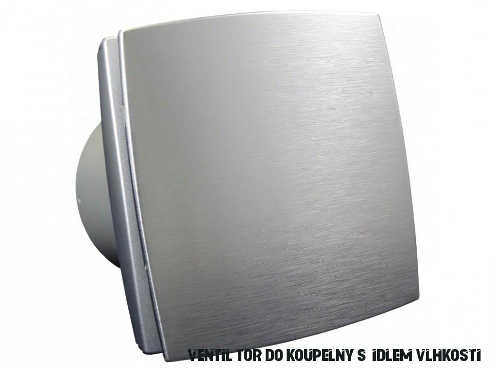Ventilátor do koupelny s čidlem vlhkosti a časovým doběhem Dalap 18 BFAZW  - Palmat.cz