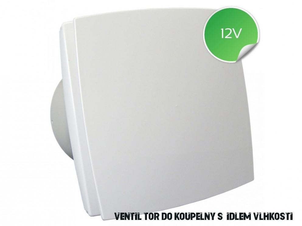 Ventilátor do koupelny 18V s čidlem vlhkosti a časovým doběhem 18 BFZW 18  - Palmat.cz
