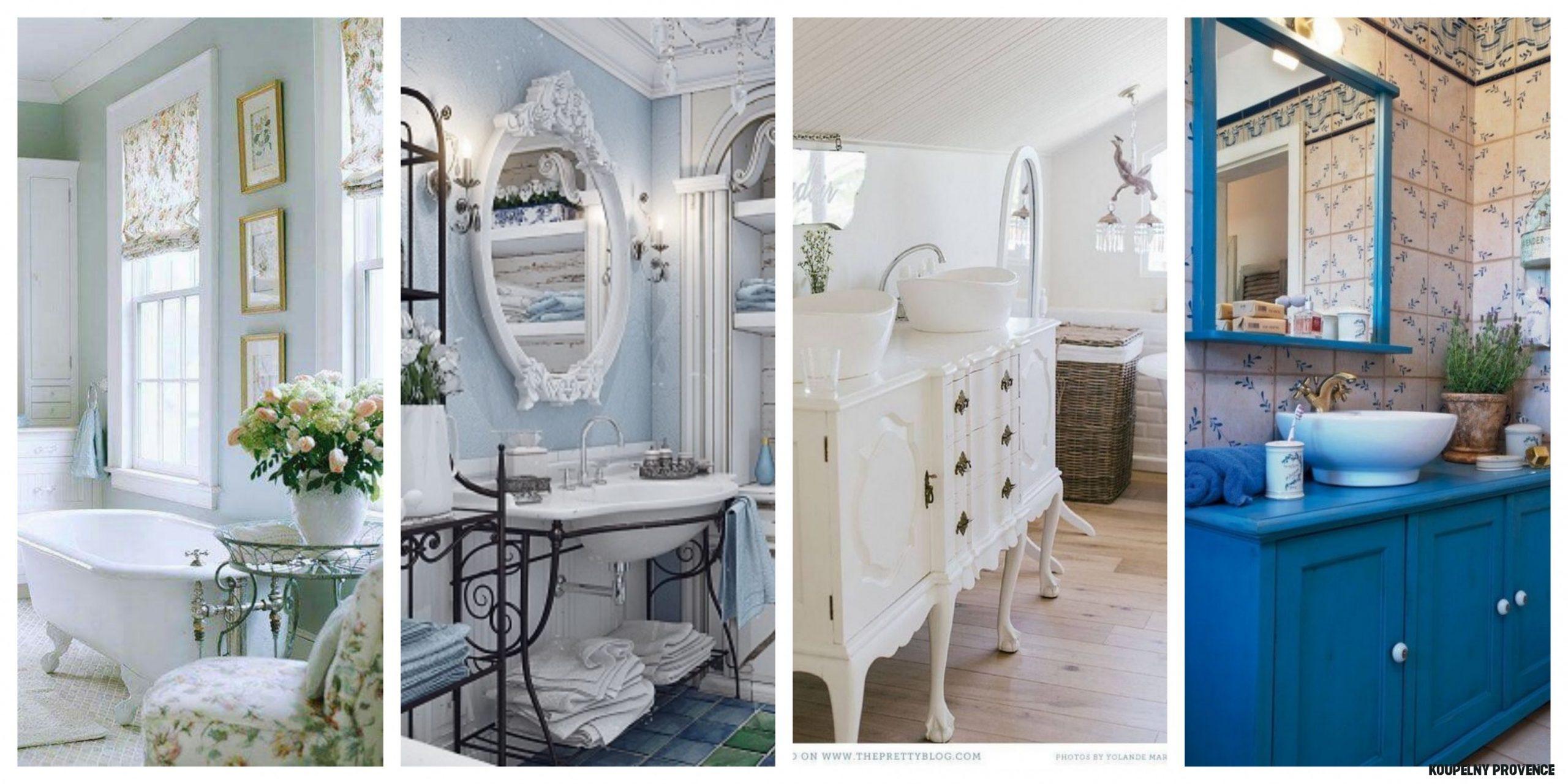 Inspirace koupelny ve stylu provence, fotogalerie - Bydlení homezin.cz