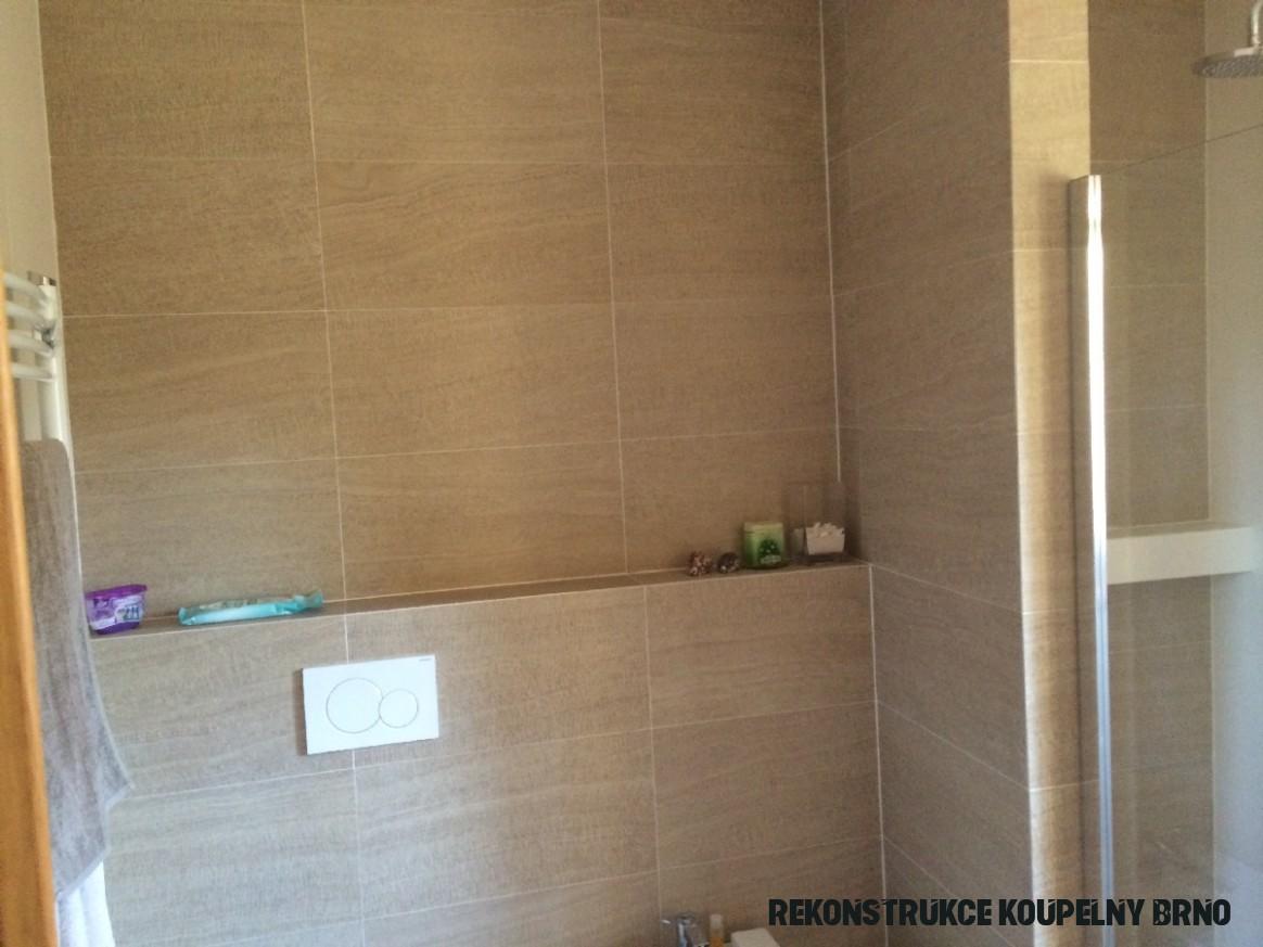 Rekonstrukce koupelny Brno - IP TRADE BRNO