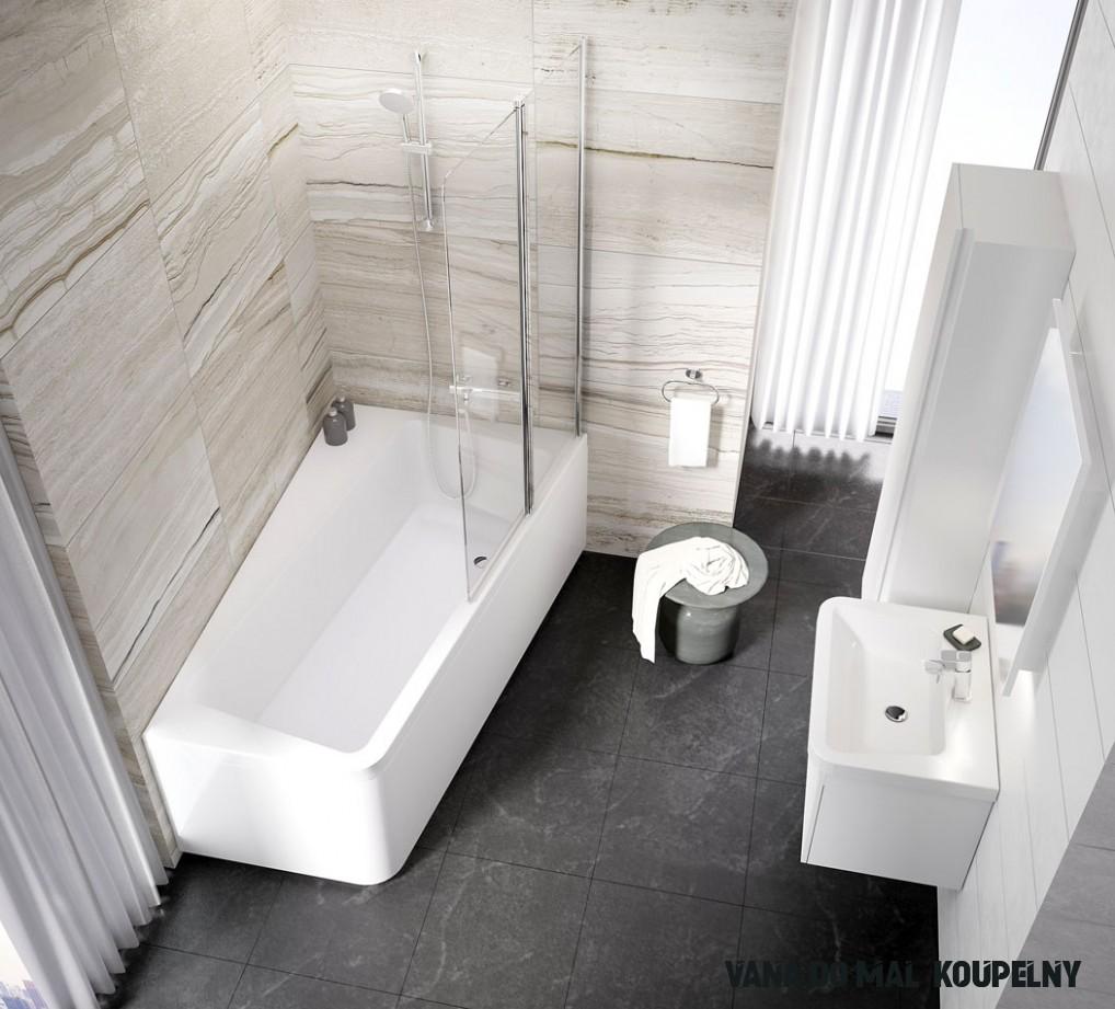 9 Nejlépe Příklad z Vana Do Malé Koupelny