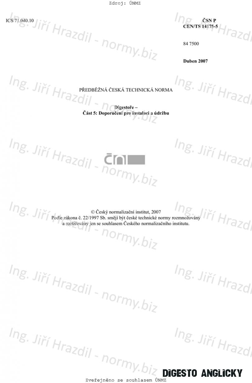 ČSN P CEN/TS 115-15 (8471500)