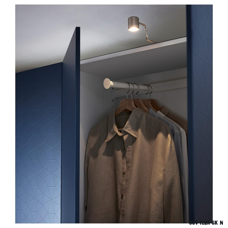 URSHULT Osvětlení skříňky LED - poniklováno