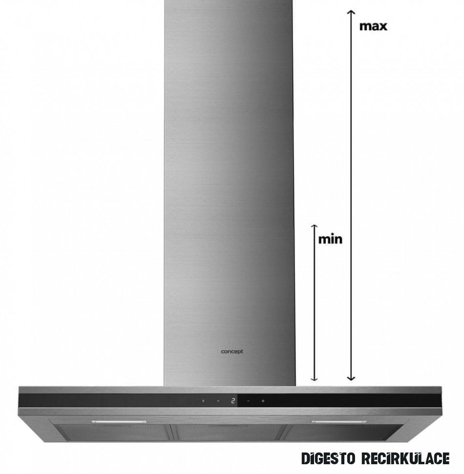 Concept OPK16 komínová digestoř  MALL.CZ
