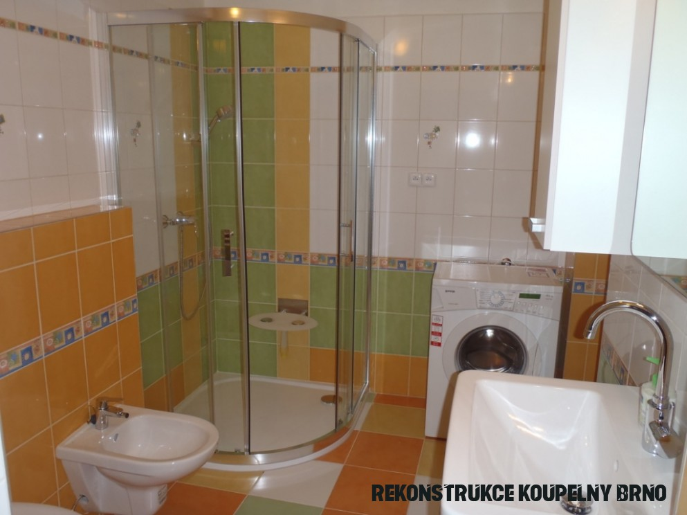 Rekonstrukce koupelny Hustopeče u Brna
