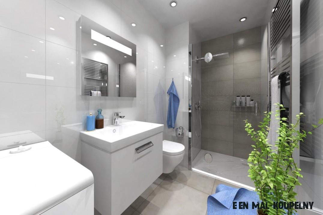 Řešení malé koupelny - 13 žhavých tipů pro vás  Kaštanová