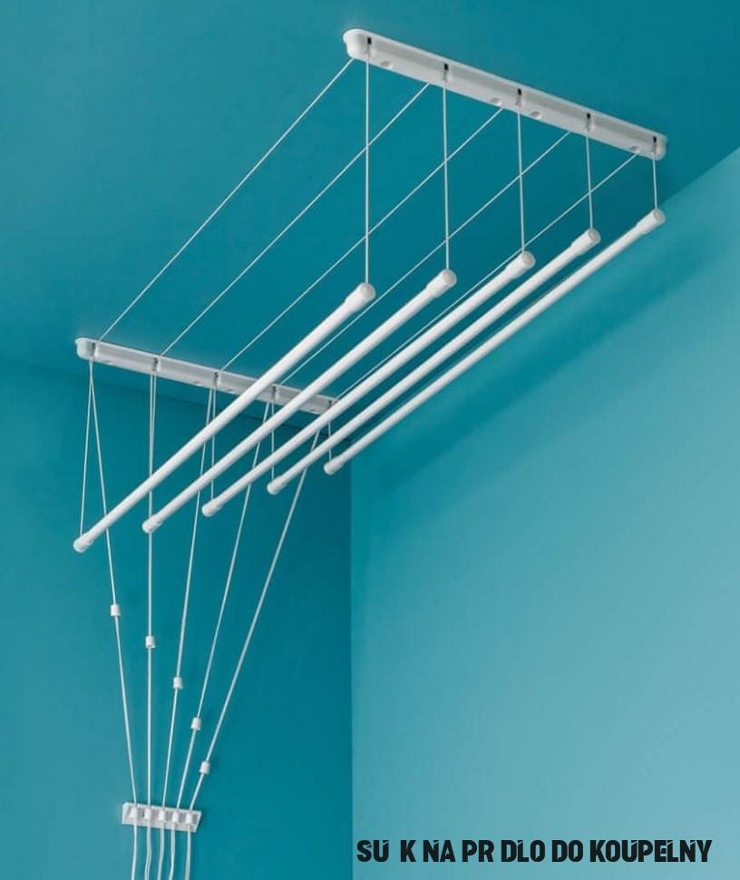 SVX Stropní sušák 9 tyčový - délka 9,9 m na prádlo  MALL.CZ