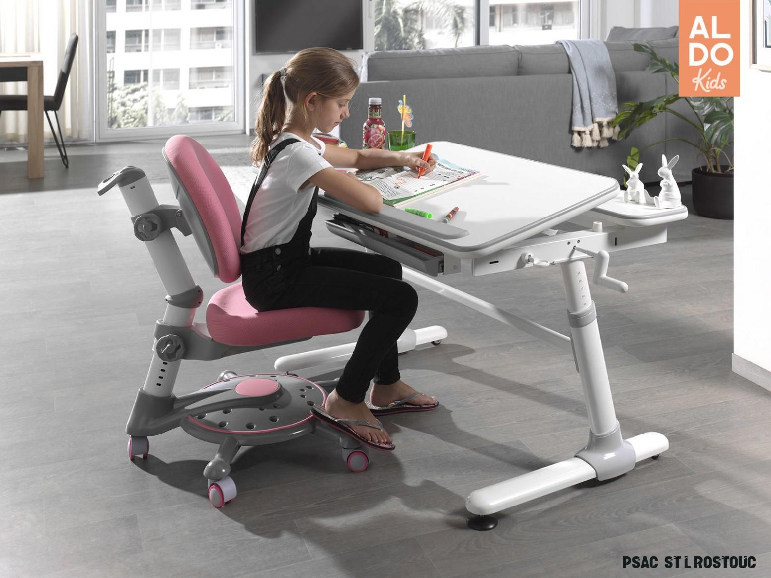 Rostoucí psací stůl pro děti Comfortline