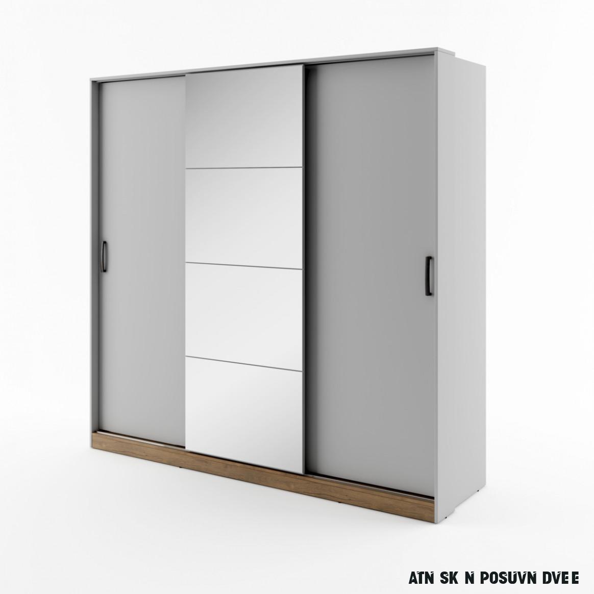 Šatní skříň s posuvnými dveřmi Nevora NV-10  Home nábytek
