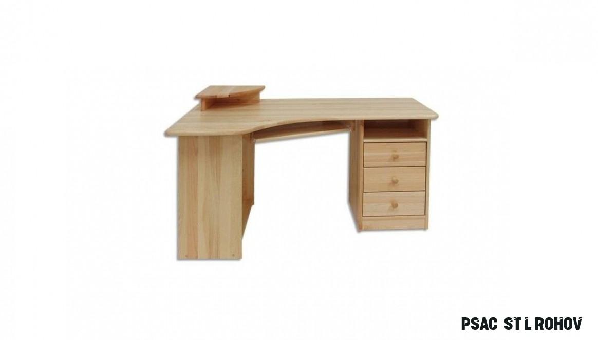 Rohový psací stůl - Nábytek Mirek