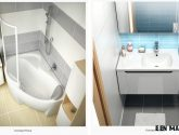 Nejnovejší Príklad Inspirace z Řešení Malé Koupelny