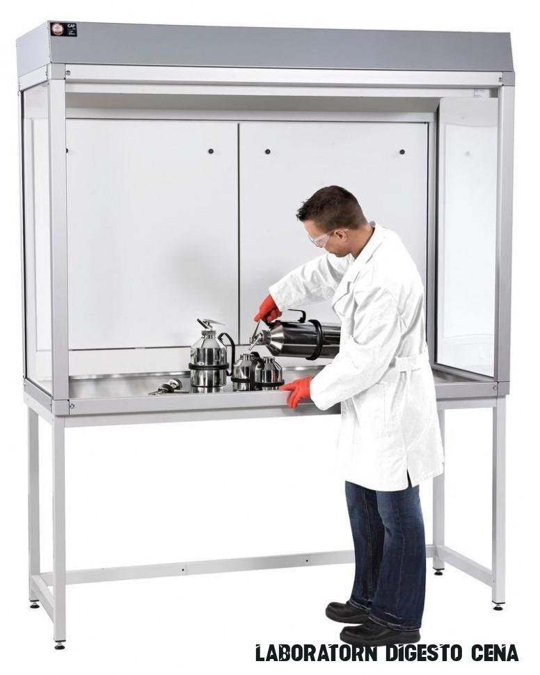 Laboratorní digestoře a stoly