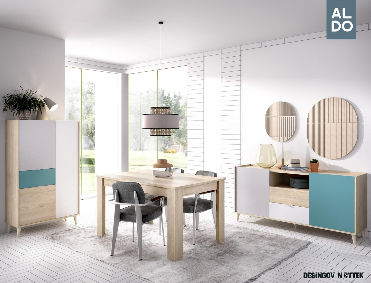 Designový nábytek do jídelny Nova  Nábytek Aldo