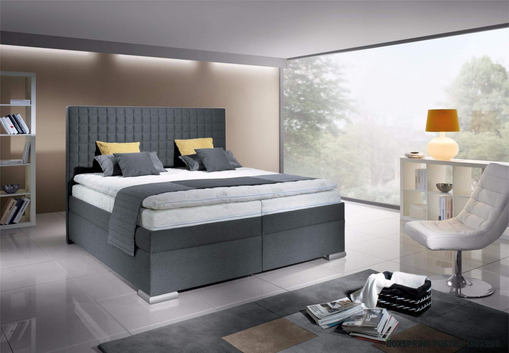 New Design Boxspring Rialto 19x19 šedý