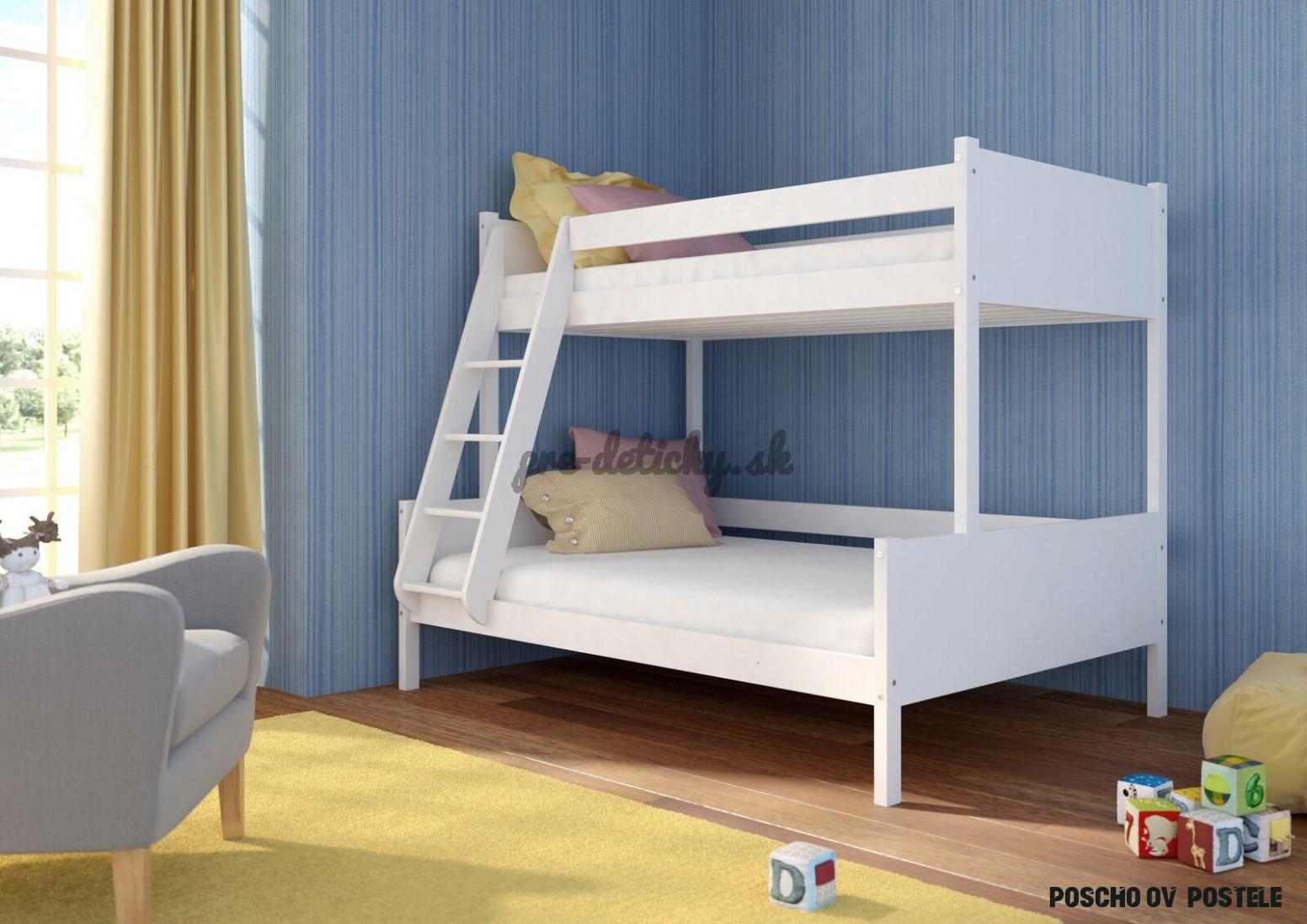 Poschodové postele  Pre detičky