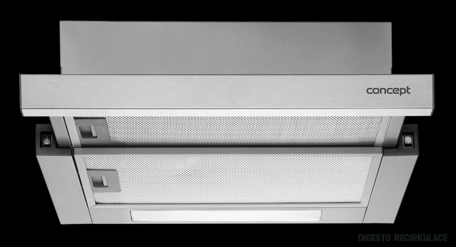 OPV16 Vestavný odsavač výsuvný 16cm