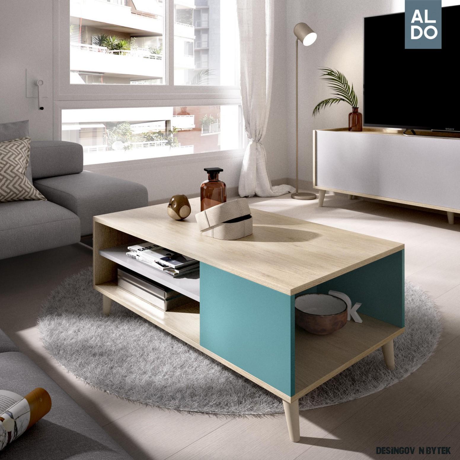 Designový konferenční stolek Nova