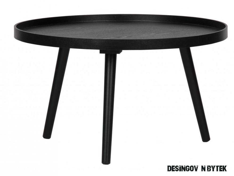 Černý konferenční stolek Mireli 11 cm