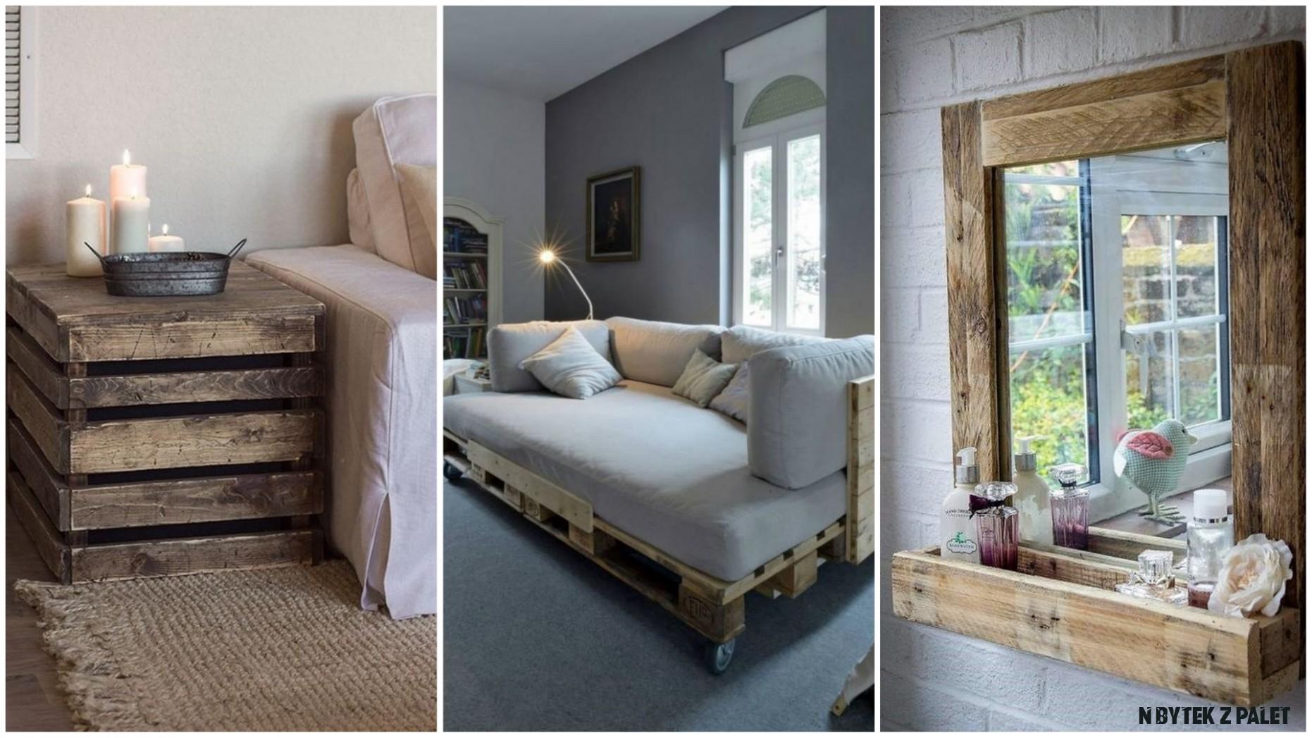 Levný nábytek z palet: 20 nápadů, jak bude vypadat luxusně  Prima