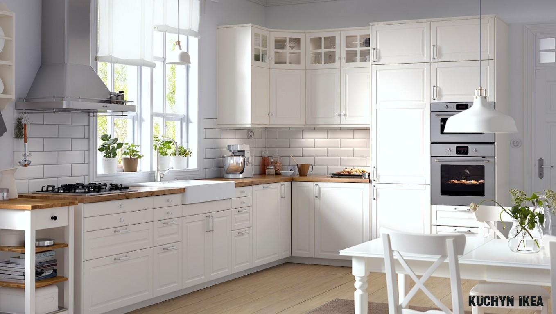 Nadčasový šarm – krémová kuchyně BODBYN - IKEA