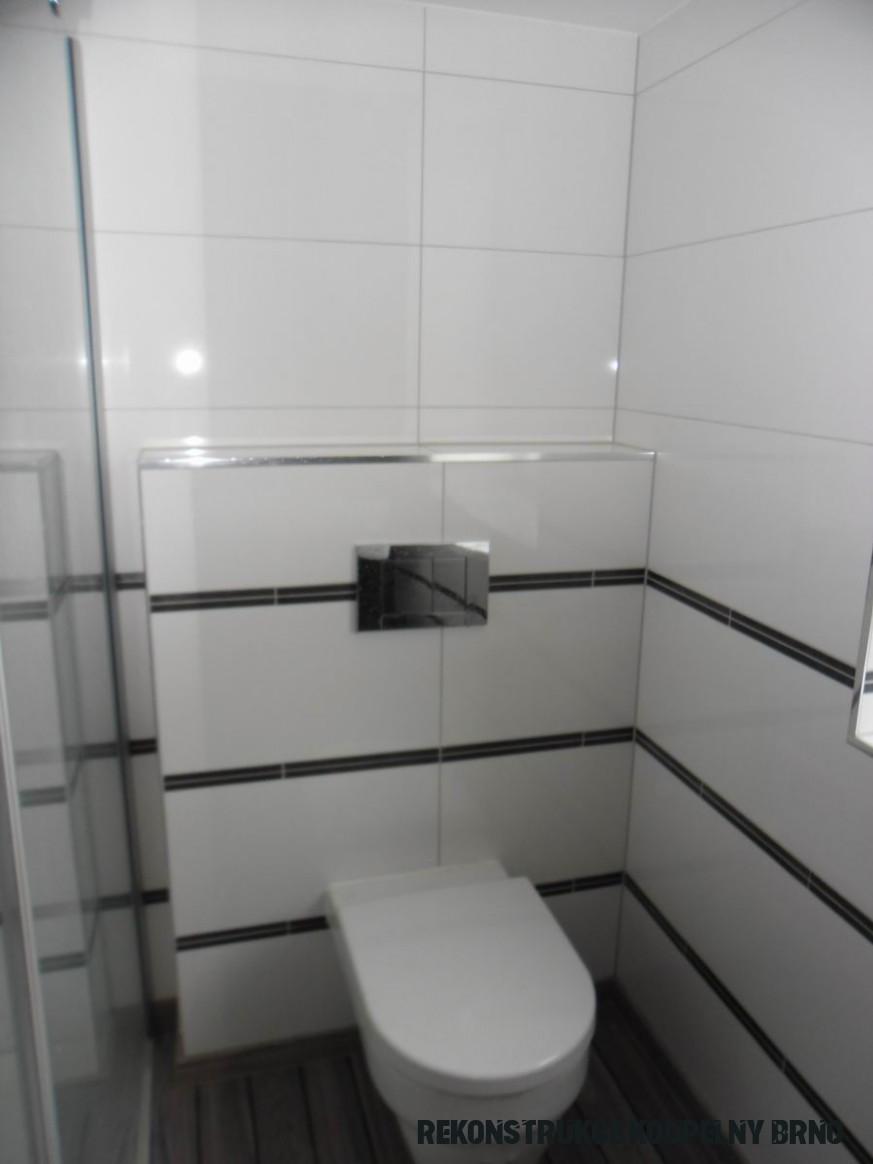Fotogalerie realizace koupelny v Brně-Řečkovicích  Přestavba