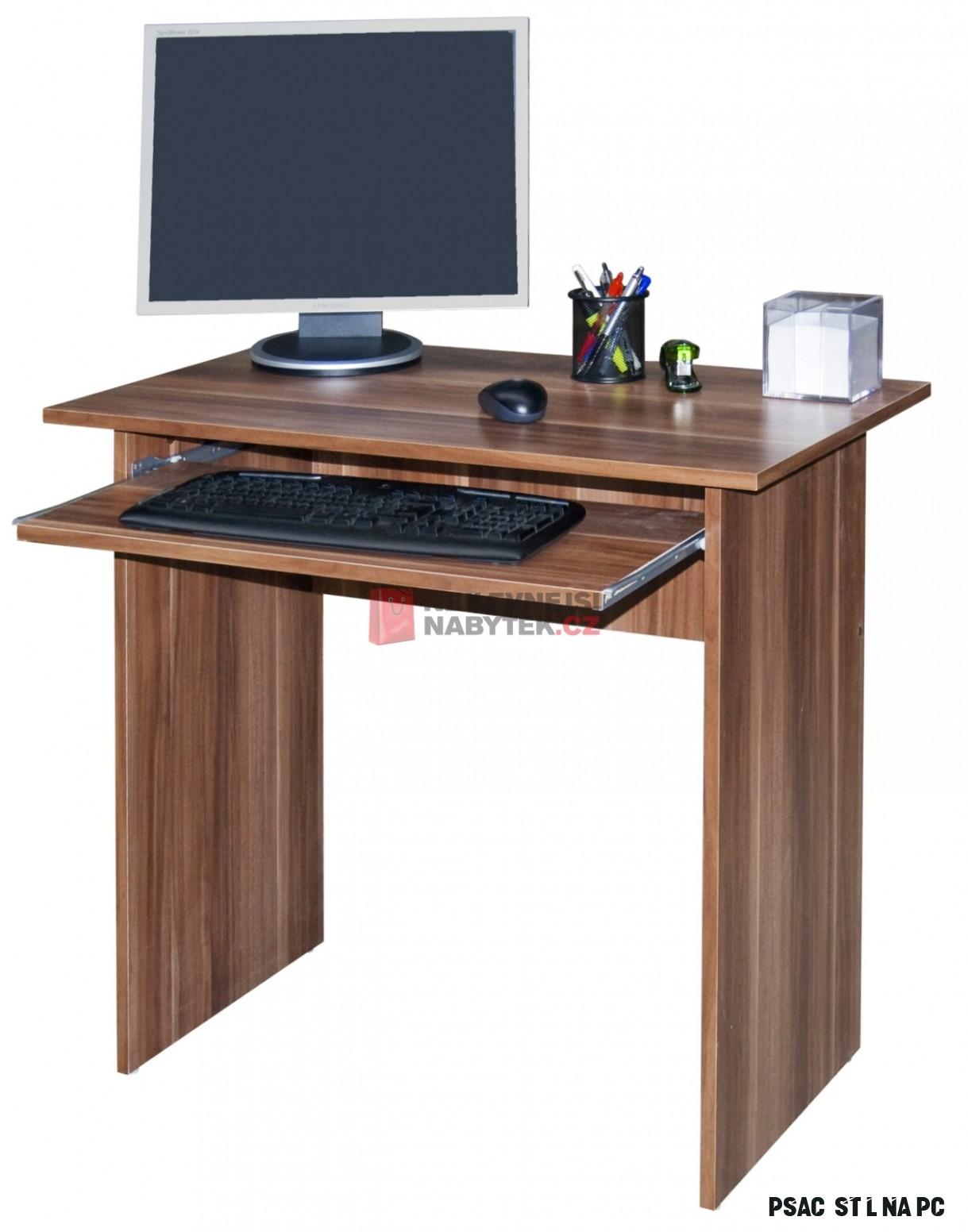 Jednoduchý PC stůl WINSTON, švestka