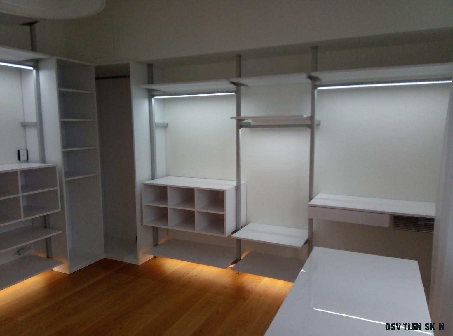 LED osvětlení skříně, šatny - Woodface - We create your home