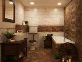 Znamenitý Obraz Inspirace z Koupelny Provence