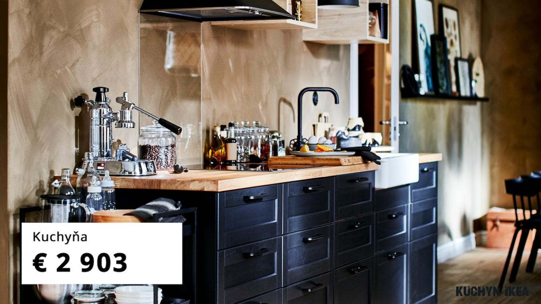 Galéria inšpiratívnych kuchýň - IKEA
