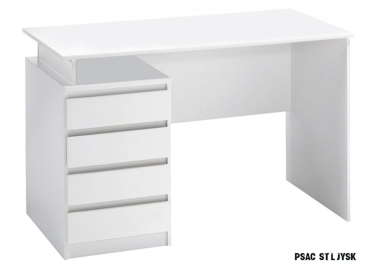 Psací stůl MESINGE 12x12 bílá