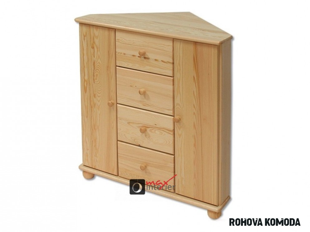 DK-15 rohová komoda se 15 zásuvkami - Max-interier.cz