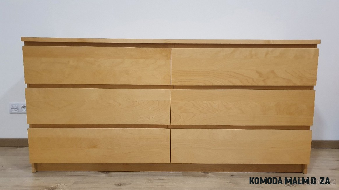 Komoda Ikea Malm 14 supliku briza - Beroun - Bazoš.cz