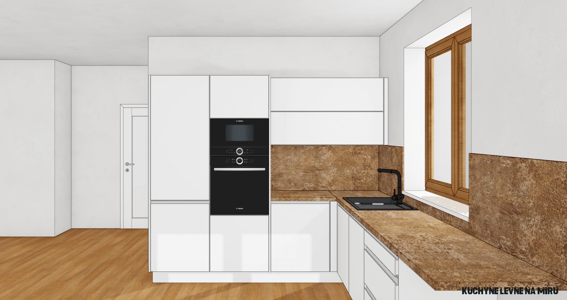 Matné kuchyně - Kuchyně cenové příklady