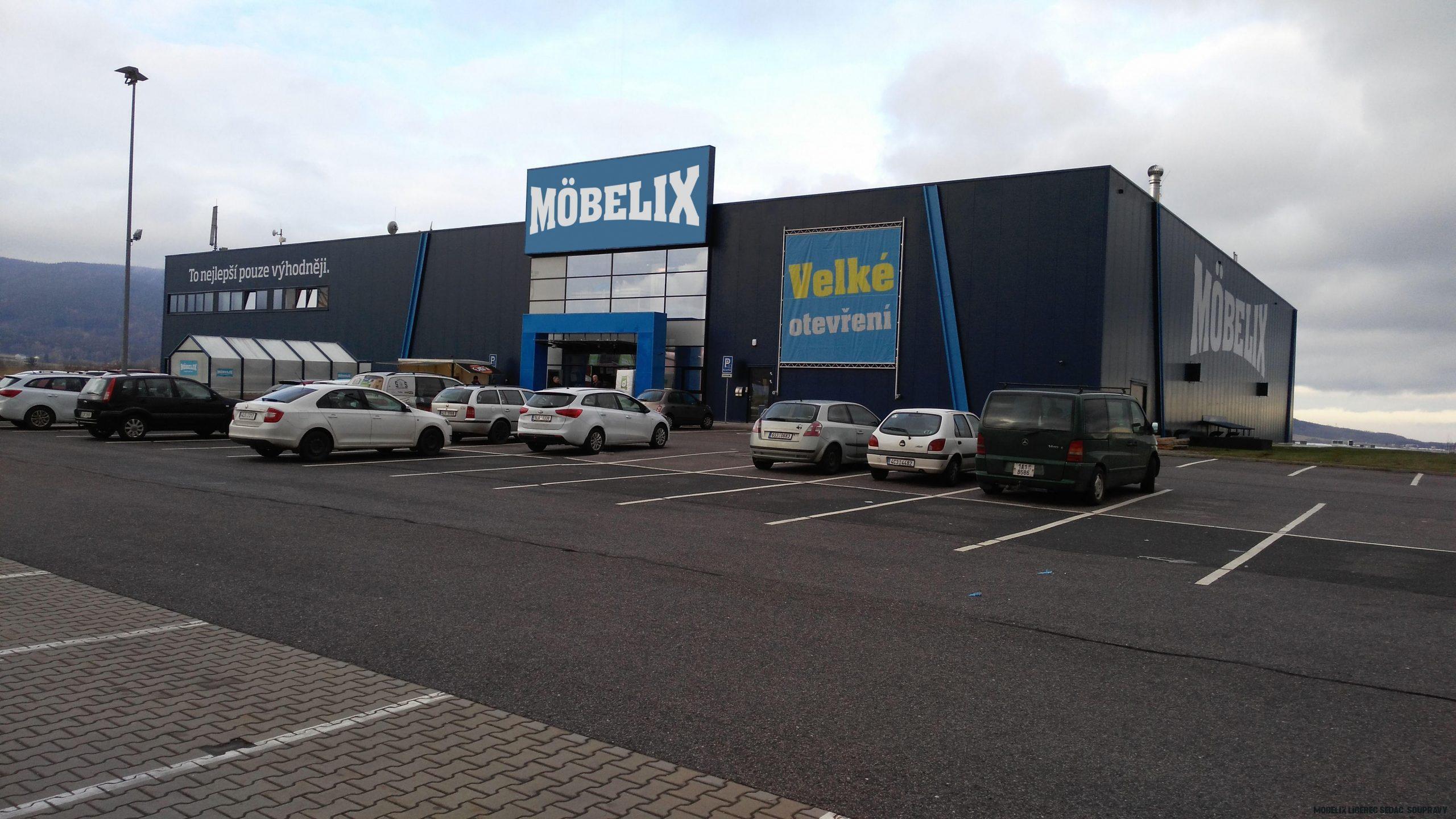 Prodejna nábytku v Liberci - Möbelix
