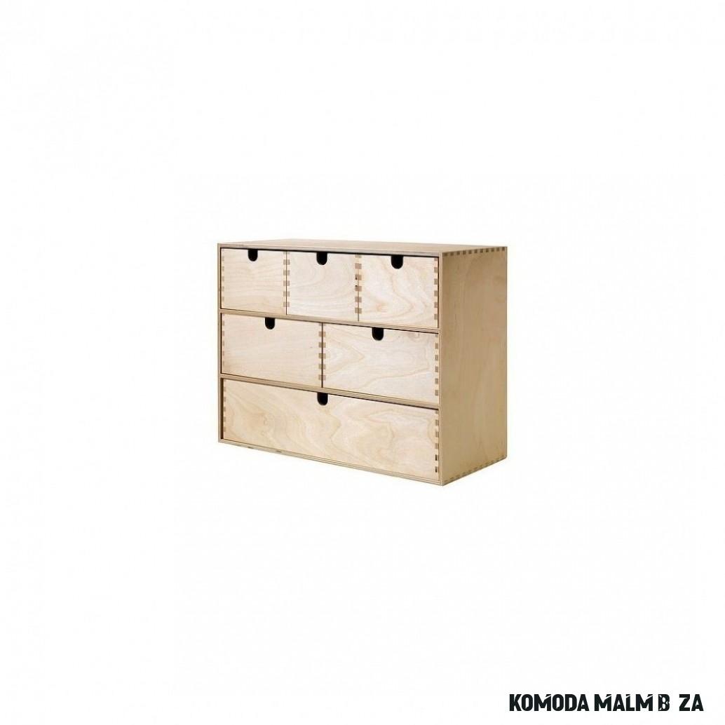 Mini komoda, bříza překližka velká MOPPE - Inspirace Ikea skříně a
