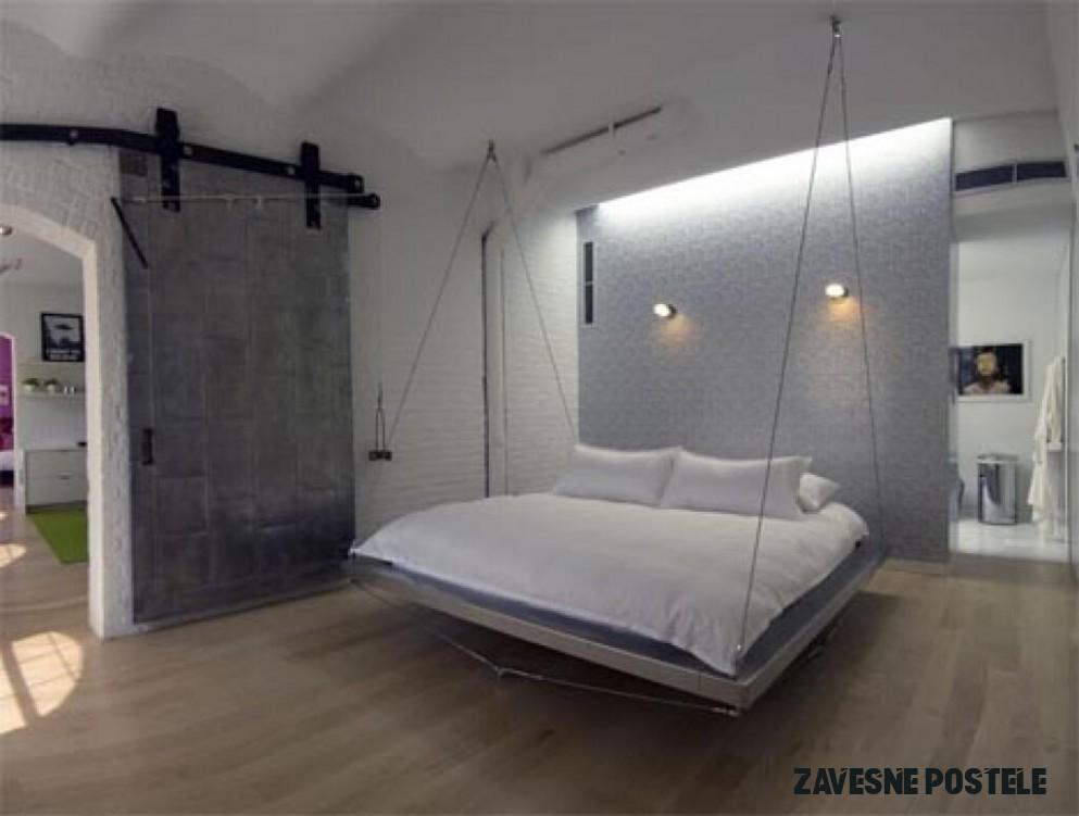 Závesné postele – extravagancia, ktorá sa oplatí  12