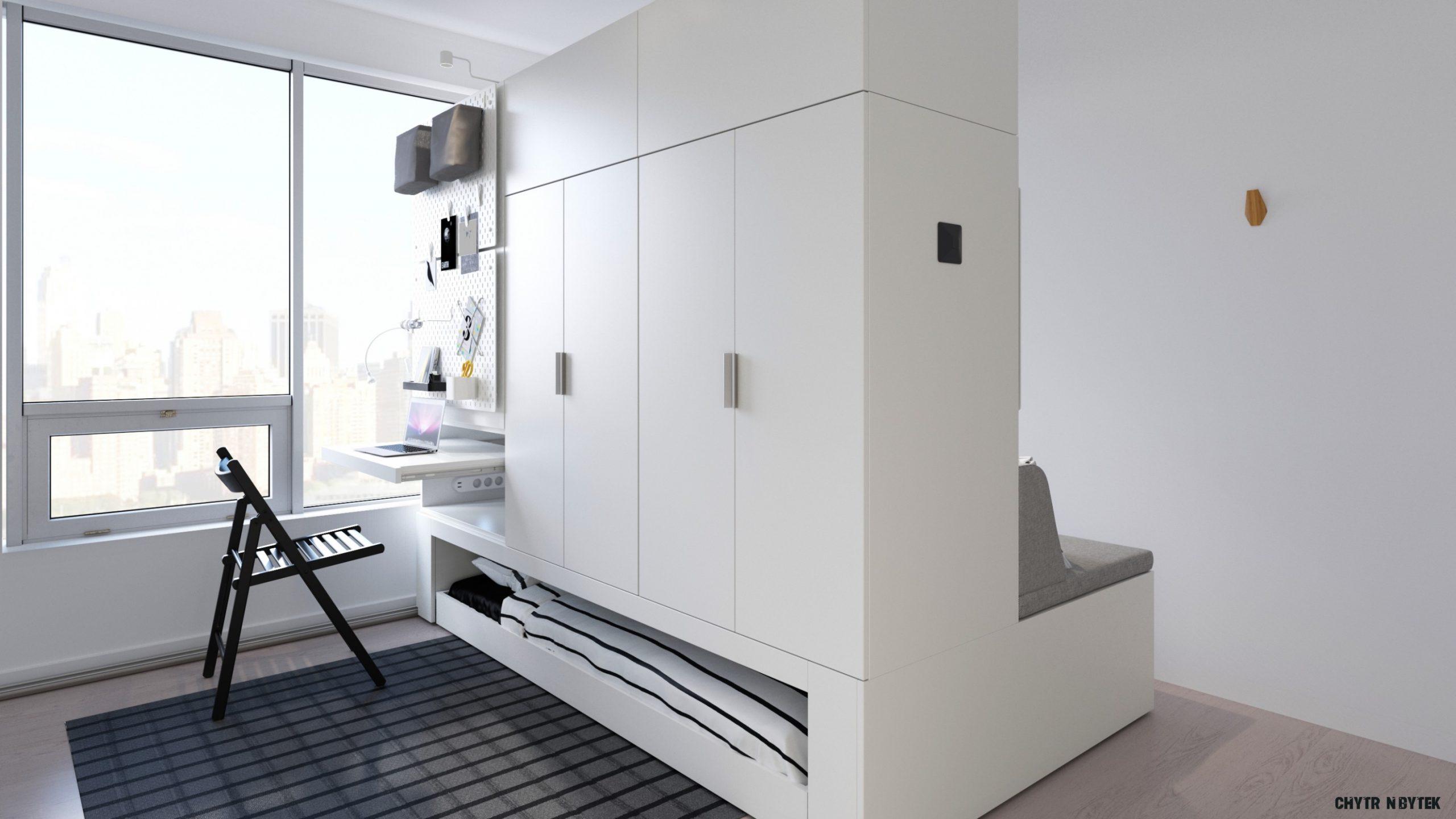 Ikea zkombinovala nábytek s robotikou. Chytrý byt se promění dle