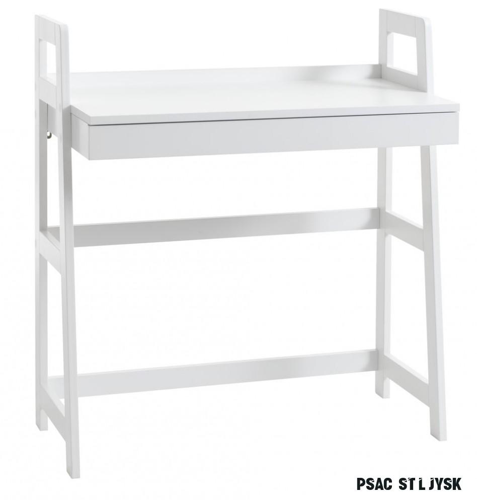 Psací stůl HERNING 12x12 bílá